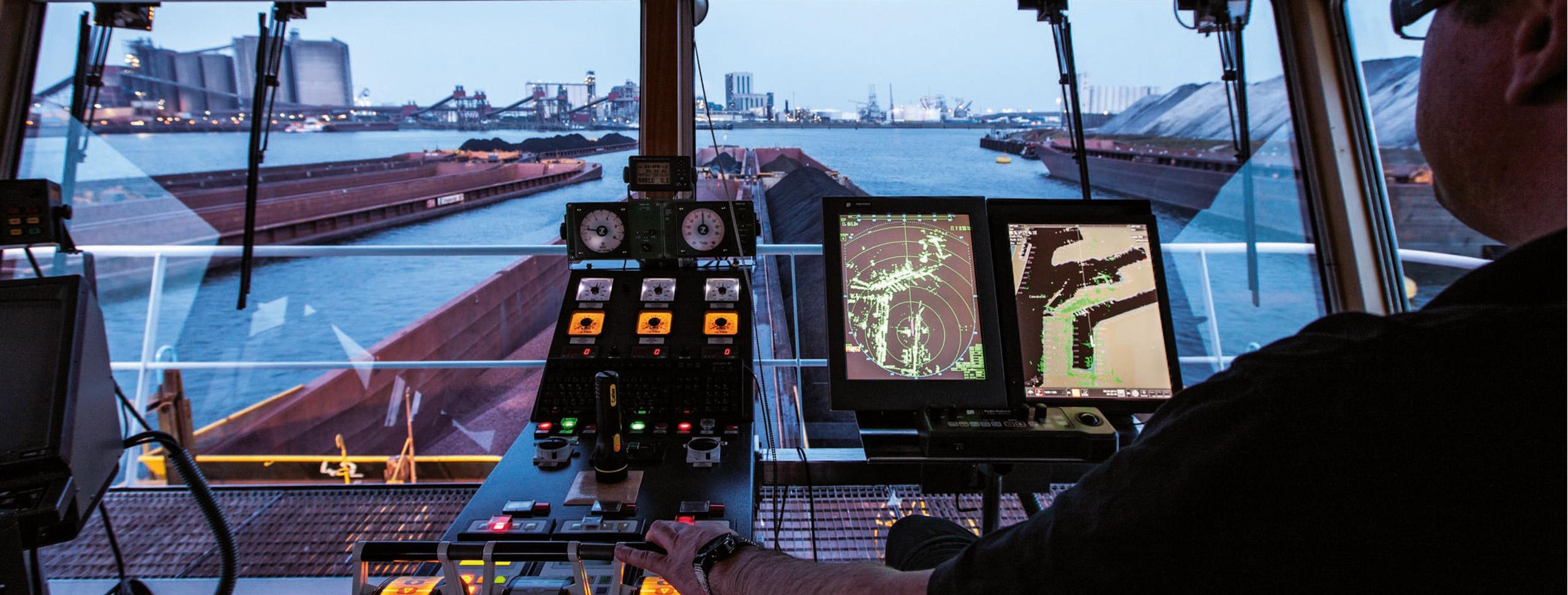 HGK Shipping Steuerhaus Herkules Boot